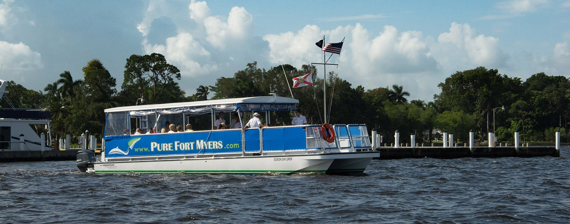 Sightseeing In Fort Myers Sunset Cruises River Tour Pure